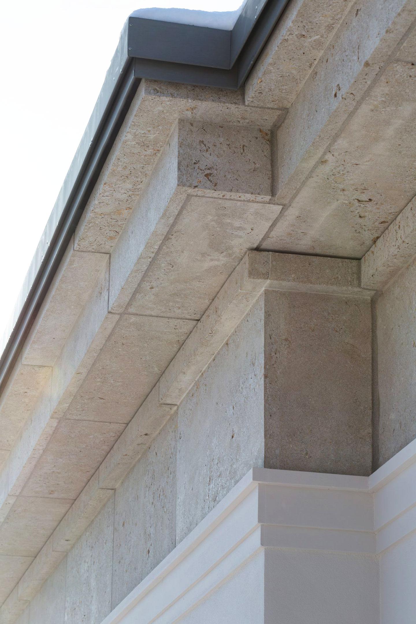Haus Friedrich Berlin-Grunewald Detail Fassade