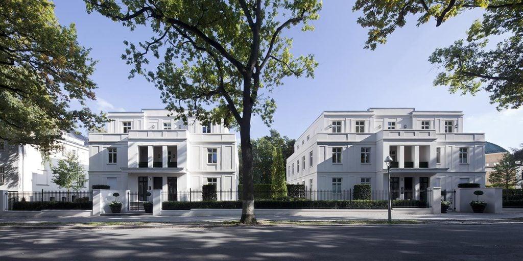 Hubertusgärten Berlin Grunewald Straßenansicht