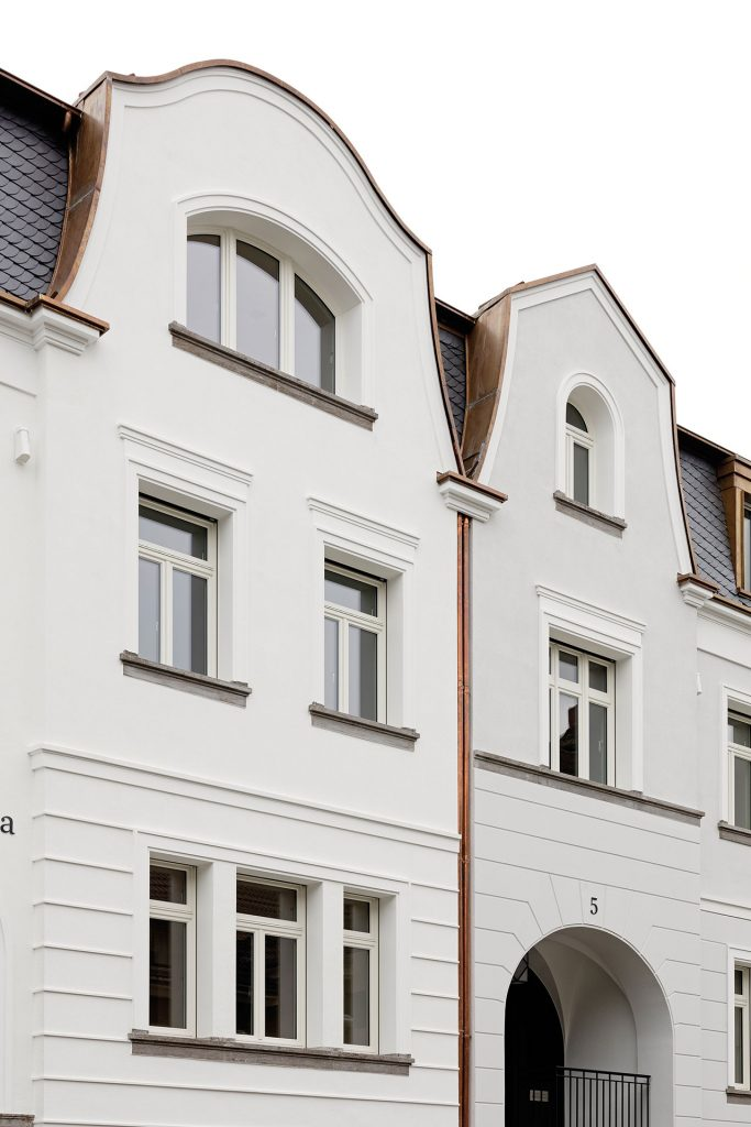 Duesseldorf-Oberkassel Carmenstrasse Fassade
