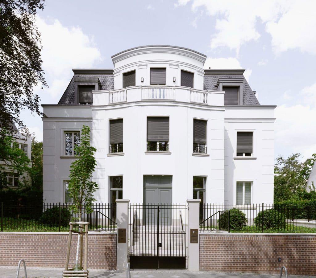 Berlin Grunewald Wissmannstrasse Fassade