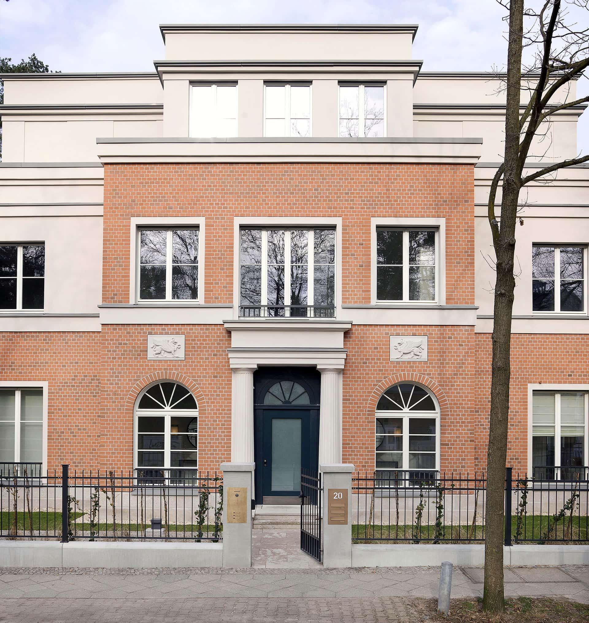 Fassade Menzelstraße Berlin-Grunewald