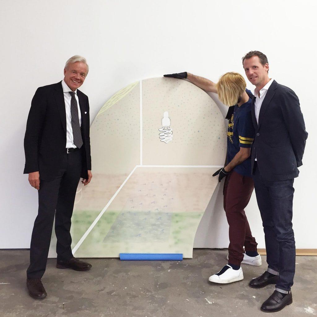 Kunst Florian Meisenberg