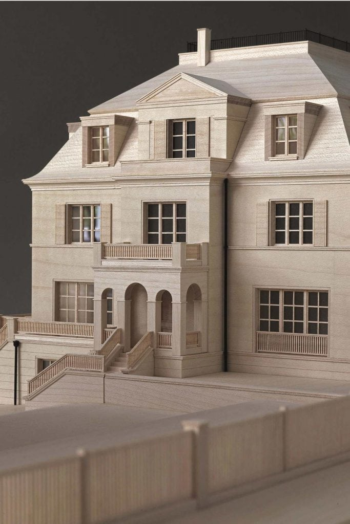 The city villa model for the Dahlem Duo