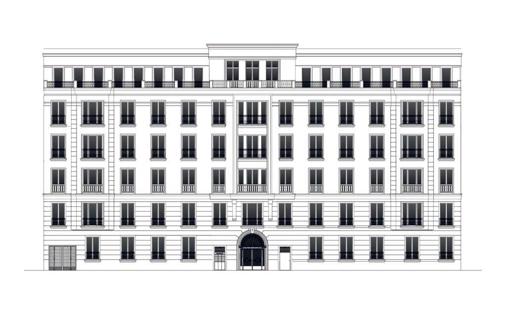 Berlin-Charlottenburg Eisenzahn1 Fassade Icon