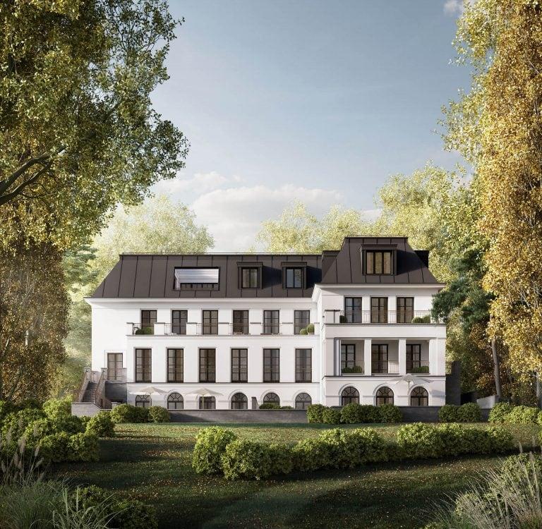 Haus Bennett Gartenansicht Frontal Berlin-Grunewald