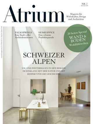 Titelseite Atrium Magazin