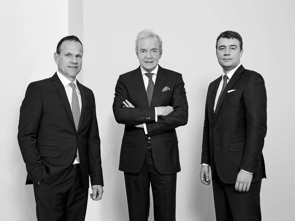 Managing directors Dirk Schnurbus, Ralf Schmitz and Axel-Schmitz