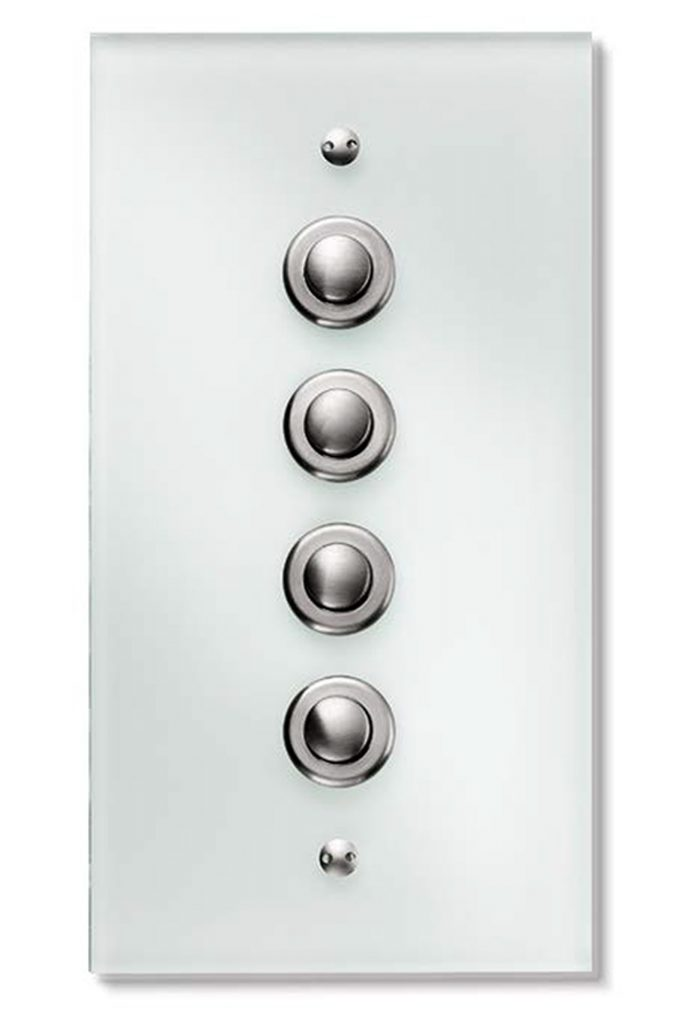 Elegant Berker light switch system
