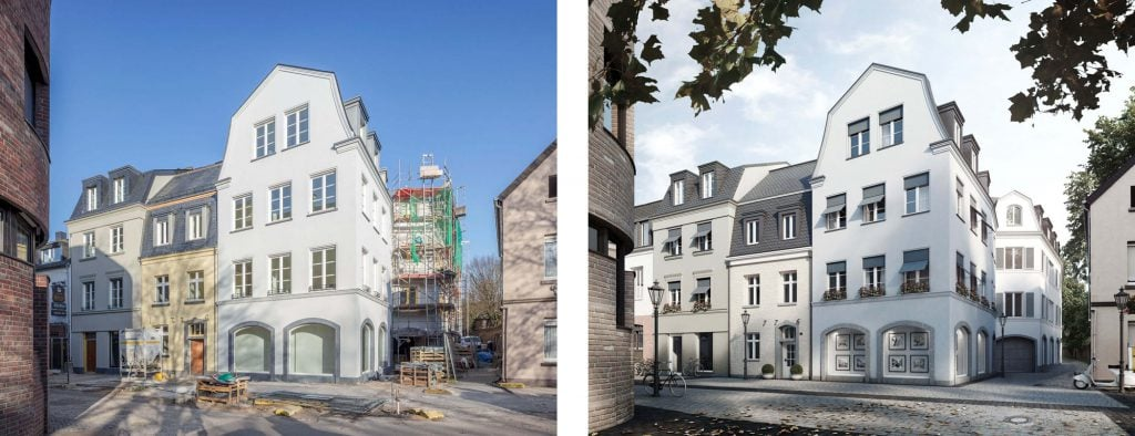 Bauprojekt Peterstrasse in Kempen, Visualisierung, Ralf Schmitz