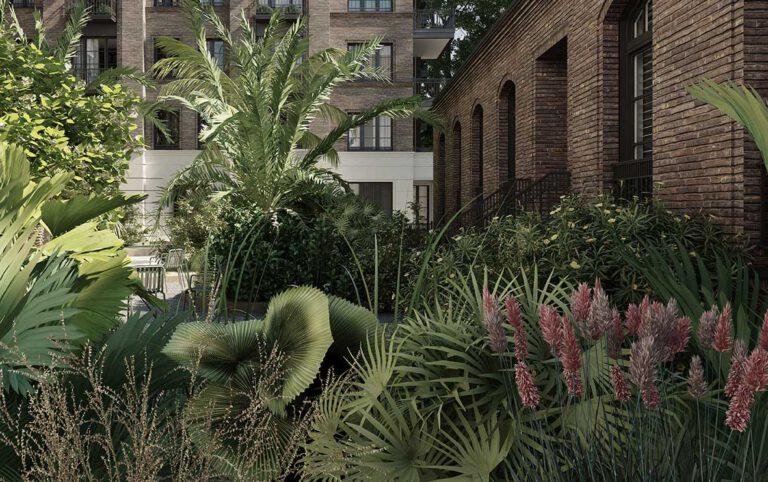 Berlin Emser Strasse Alexander Remise Garten