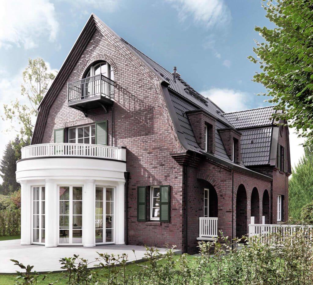 Hamburg Charlotte-Niese Nienstedten Die Villa